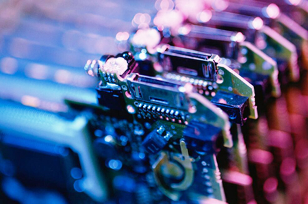 Rapid development of electronic components industry